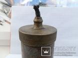 Лампа-коптилка из гильзы, фото №4