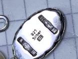 Серебряное винтажное колье из белых бусин, фото №10