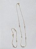 Винтажный позолоченый набор с Англии колье + браслет, фото №2