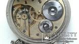 Швейцарские часы лонжинес 30х годов 20 века.рабочие с серебрянной цепочкой, фото №4