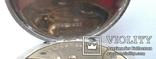 Швейцарские часы лонжинес 30х годов 20 века.рабочие с серебрянной цепочкой, фото №8
