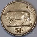 Ірландія 5 пенсів, 1993