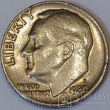 США 1 дайм, 1980