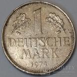 Німеччина 1 марка, 1974 D