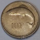 Ірландія 10 пенсів, 1993