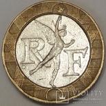 Франція 10 франків, 1989