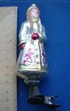 Игрушка времен СССР--  Снегурочка на прищепке, фото №2