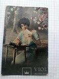 Старая поздравительная открытка, фото №3
