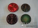 """Часовой механизм """"Заря"""" с циферблатом 4шт. (цветные), фото №2"""