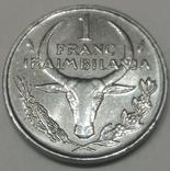 Мадагаскар 1 франк, 1981