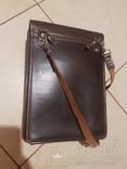 Планшет кожаный, сумка полевая Potsdam, фото №7