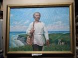 """""""Геродот""""  х.м. 60х80 см. В.Г. Людвик(1932-2007), фото №2"""