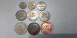 Набор Шорно-футлярная и чемоданная фабрика набор 9 монет 1922 копии, фото №2