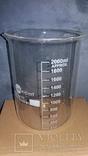 Лабораторный стакан (низкий с носиком) 2000мл. ТС, фото №2