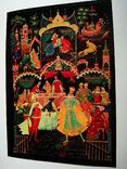 Русские народные сказки в иллюстрациях палехского художника А.Куркина 1972г. Ленинград, фото №13