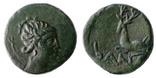 Античная монета артемида олень, фото №2