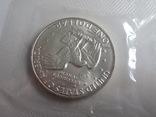 1 Доллар 1973г  в запайке с жетоном, в конверте, фото №7