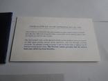 1 Доллар 1973г  в запайке с жетоном, в конверте, фото №10