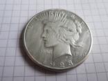1 доллар 1923г США, фото №4