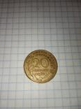 20 сантимов 1963 г., фото №4