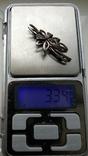 Брошь Серебро 925пр. кл.тризуб, фото №12