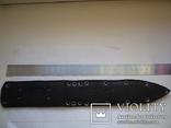 Ножны на нож кожа,с заклёпками №4, фото №4