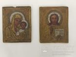 Пара Христос та Матір Божа (глина) 10.5х8.3х7, фото №6
