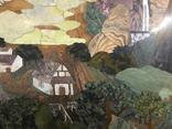 Флорентийская мозаика декоративное панно, фото №5