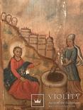 Христос та самаритянка напувальниця 98*58 см, фото №3