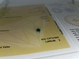 Природный фантазийный бриллиант 0,52 карат с сертификатом, фото №4