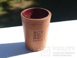 Кожаный стакан германия  - lotto, фото №2