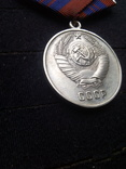 Медаль за отличную службу по охране общественного порядка  копия, фото №5