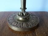 Антикварна керосинова лампа, фото №8