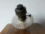 Антикварна керосинова лампа, фото №9