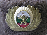 Шапка ушанка армии Болгарии с кокардой, фото №10