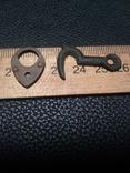 Маленький замочок і крючок шкатулки, фото №2