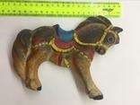 Игрушка резиновая Лошадь  пищалка новая времён СССР, фото №3