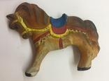 Игрушка резиновая Лошадь  пищалка новая времён СССР, фото №2