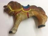 Игрушка резиновая Лошадь  пищалка новая времён СССР, фото №5