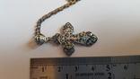 Крестик нательный с цепочкой. Серебро 925. Вес 6.7 г. Длина 50 см., фото №3
