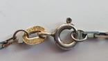 Крестик нательный с цепочкой. Серебро 925. Вес 6.7 г. Длина 50 см., фото №5