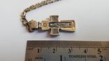 Крестик нательный с цепочкой. Серебро 925. Вес 7.9 г. Длина 50 см., фото №5