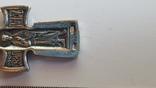 Крестик нательный с цепочкой. Серебро 925. Вес 7.9 г. Длина 50 см., фото №6