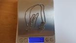 Крестик нательный с цепочкой. Серебро 925. Вес 7.9 г. Длина 50 см., фото №9