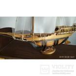 Модель Парусник, корабль, фрегат ручной работы, фото №3