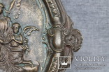 Панно ангелы бронза вес 1.718 кг., фото №8