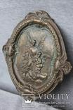 Панно ангелы бронза вес 1.718 кг., фото №10