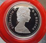 Канада 1 доллар 1988 г. Серебро. Кузнецы, фото №3