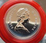 Канада 1 доллар 1979 г. Серебро. 100 лет со дня первого плавания корабля «Гриффон», фото №3