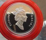 Канада 1 доллар 1980 г. Серебро. 300-летие экспедиции Генри Келси по Северной Америке.., фото №3